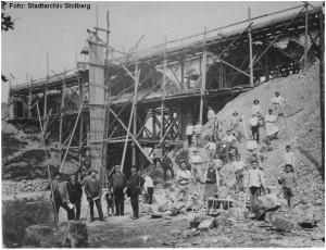 1910_Stolberg_ViaduktRuest__Bau_zweites_Gleis_x1F4_F