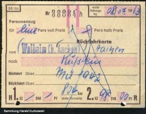 19630708_Fahrkarte_Walheim_Kufstein