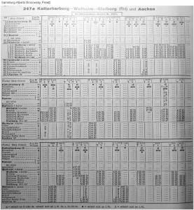 Winter 1954-55 _Kursbuchtabelle_Stolberg_Walheim_b
