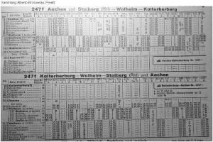 best_Winter 1951-52 _Kursbuchtabelle_Stolberg_Walheim_a b