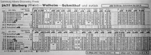 richtig_Winter 1961-62_Kursbuchtabelle_Stolberg_Walheim