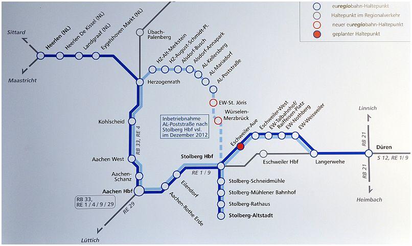 Aktuelle Entwicklungen bei der Euregiobahn RB 20 Eisenbahn in