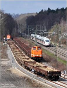2013_04_13_StolbergHbf_CABruecke_LOCON_Loks205_u_215_ICE3Bruessel_Ffm_x1_F