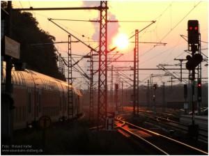 2014_06_02_StolbergHbf_Sonnenaufgang_BR146_mitRE1_x1_F