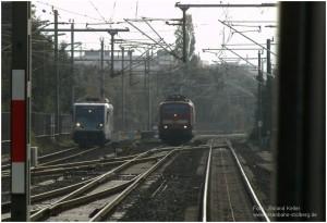 2014_10_02_BfDueren_Paralleleinfahrt_RTB_Regiosprinter_BR111_RE9_x1_F