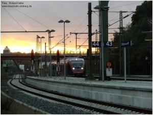 2014_10_20_StolbergHbf_Gl43_BR643_Abendhimmel_x2_F