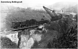 12_1956_10_16_Stolberg_ViaduktRuest_BR92_Abtransport_alterUeberbau_x2F4_F