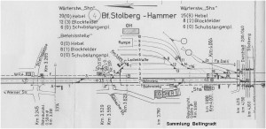 1960_Gleisplan_BfStolberg_Hammer_x1F3_F