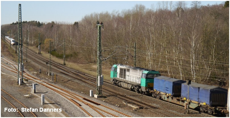 Stolberg Hbf ICE 4604 + Vossloh G2000 BB am 08.03.2015_Foto_Stefan_Danners_F