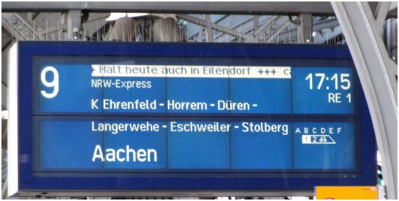2015_04_23_KoelnHbf_Zugzielanzeiger_RE1Halt_Eilendorf_x1_F
