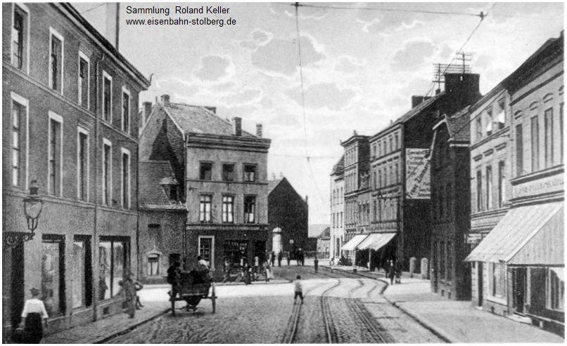 1_um1920_Stolberg_Muehle_Neustrasse_2gleisige_Strassenbahnstrecke_x1F3_F