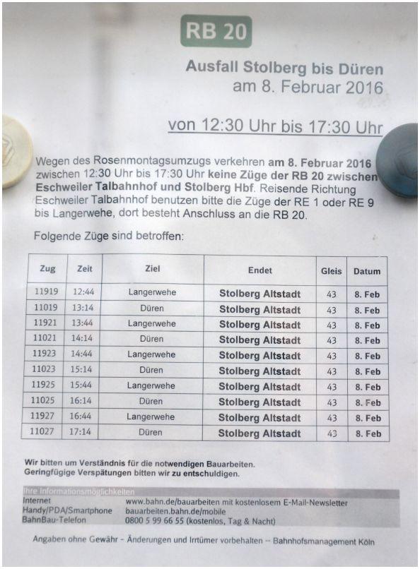 2016_02_06_Stolberg_Hbf_RB20_Info_Rosenmontag_x4_F