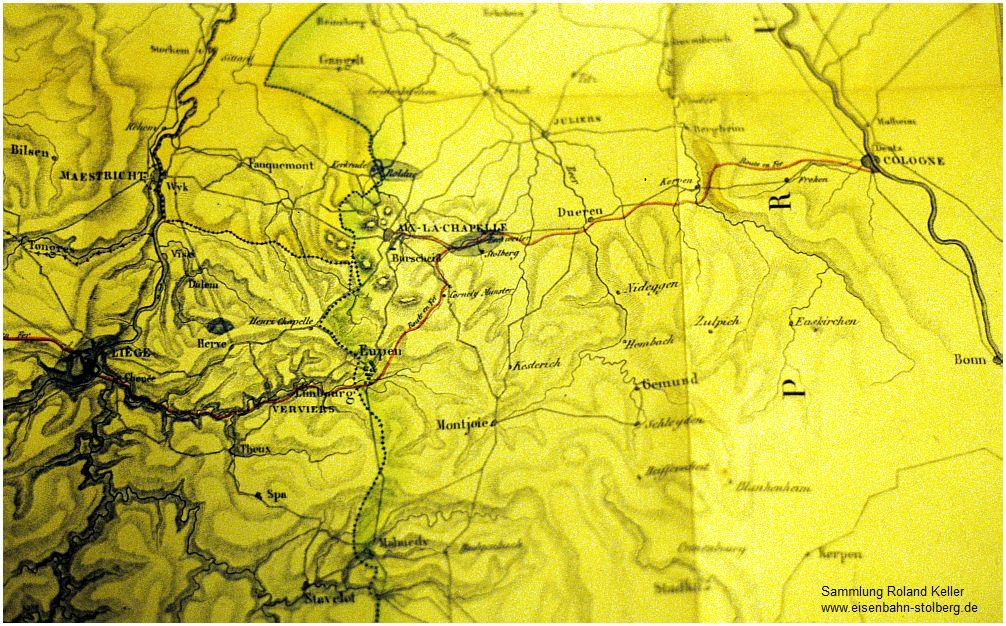 1835_Streckenplanung_Rheinische_Eisenbahn_ohne_Aachen_Repro_von_1986_2097_x1F6_F